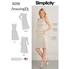 Simplicity Patterns Delectable Simplicity Pattern 48 Womens And Plus Size Amazing Fit Dress New