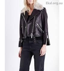 women s coats jackets allsaints limited black jackets grift leather biker jacket 22mg950