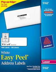 Avery 5162 Labels Avery Easy Peel White Address Labels 5162 Avery Online Singapore