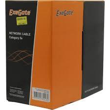<b>Кабель UTP Exegate</b> 205293 <b>UTP</b> 5e 305 метров — купить, цена и ...