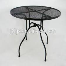 china hight quality patio metal mesh dining round table