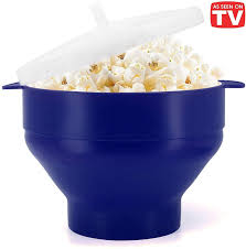 <b>Microwaveable Silicone</b> Popcorn Popper, BPA Free Collapsible <b>Hot</b> ...