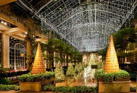 longwood gardens a ling wonderland bedecked with 500 000 lights returns for the 2016 holiday season on november 22