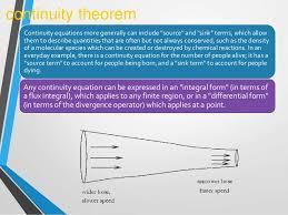 continuity equation physics. continuity equations equation physics