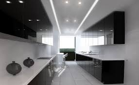 Modern Black Kitchen Cabinets 33 Modern White Contemporary And Minimalist Kitchen Designs