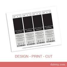 Event Ticket Photo Invitation Template Printable Diy Make