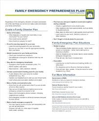 29 Emergency Plan Examples Word Google Docs Apple Pages Examples