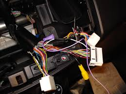 aftermarket navigation install kenwood dnx 6960 page 3 i juist piggy backed off of the connection and simply twisted it on there out ering so that i didn t have to cut any factory wires