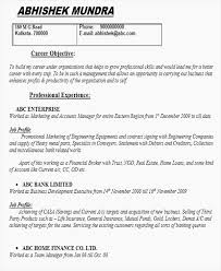 How To Write A Good Resume Objective Exotic Career Objective