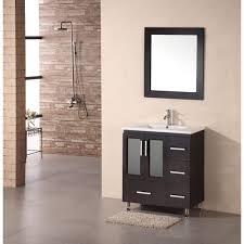 Dark Wood Bathroom Accessories Vanities Design Element The Best Prices For Kitchen Bath And