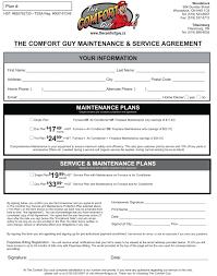 Air Conditioner Amc Agreement Format Maitenance Contract Barca Fontanacountryinn Com