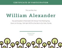 Teal Photography Participation Certificate Templates By Canva