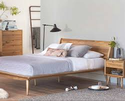 scandinavian platform bed. Wonderful Bed The Bolig Bed From Scandinavian Designs  Nordicinspired Bed Is  Crafted Solid Poplar And Features A Warm Stain Exposing The Natural Texture  Intended Platform R