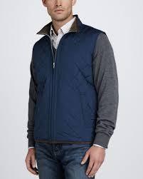 Peter millar Potomac Quilted Lightweight Vest in Blue for Men | Lyst & Gallery Adamdwight.com