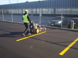 pavement line marking line painting parking lot line striping in toronto