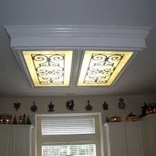 Kitchen fluorescent lighting ideas Decorative Image Of How To Update Recessed Fluorescent Lighting In Kitchen Modern Lovidsgco How To Update Recessed Fluorescent Lighting In Kitchen Awesome
