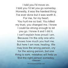 Quotes About Life Lessons And Moving On Cool Lessons Learned In LifeI Told You I'd Move On Lessons Learned In Life
