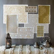 moroccan inspired furniture. Moroccaninspired Stencils For Decor Moroccan Inspired Furniture