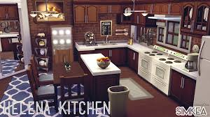 Sims Kitchen My Sims 4 Blog Helena Kitchen By Simkea