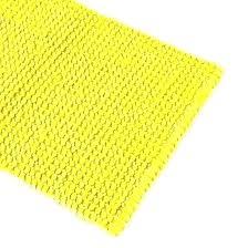 yellow bath mat mid century modern geometric
