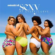 plus size models sports illustrated plus size models recreate 2014 sports illustrateds swimsuit issue