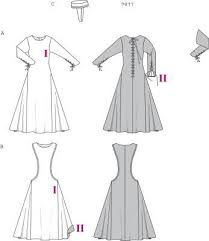 Medieval Dress Patterns