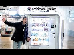 Pokemon Vending Machine Toys Awesome A Pokemon Center Vending Machine YouTube