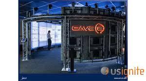 UIC Electronic Visualization Laboratory - CAVE2 (Application Summit 2013)