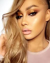 the latest metallic makeup trend followed by supermodels sy daily makeup