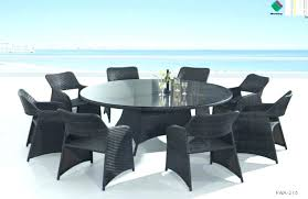 square outdoor dining table seats 8 square patio table for 8 chic outdoor round dining table