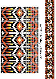 Free Beading Patterns Magnificent Beaded Guitar Strap Patterns Free Beading Pattern Guitar Loom