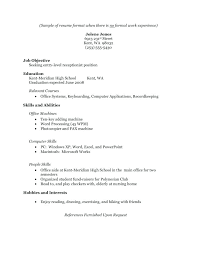 Resume Samples For High School Students Impressive No Experience Resume Sample Unique Letter Template Ideas Page 48 Of