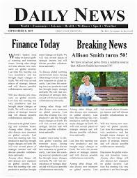 Write Your Own Newspaper Article Template Free Newspaper Generator Create A Fake Newspaper In Minutes