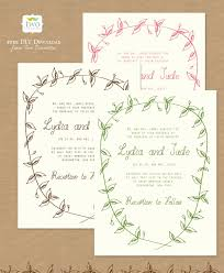 Free Downloadable Wedding Invitation Templates Happy Friday Ruffled 8