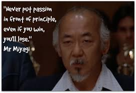 Karate Kid Famous Quotes