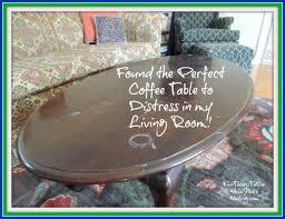 coffee table to distress
