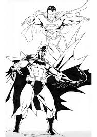Small Picture Printable 18 Batman and Superman Coloring Pages 8603 Batman
