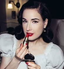25 beauty lessons we ve learned from dita von teese
