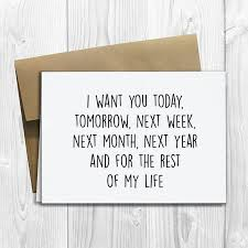 Loving Quotes For Him Extraordinary Quotes About Love For Him PRINTED I Want You Today Tomorrow Next
