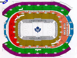 Maple Leafs Seating Chart Rivi Ca Leafs Seating Map