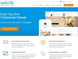 build a free website online best html5 website builders for webmasters in 2017