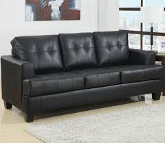 Black Leather Sleeper Sofas Sofa Sale Queen Trend For Your Sectional