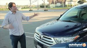 2012 Toyota Highlander Test Drive & SUV Review - YouTube
