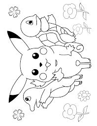 Small Picture Color Pages Pokemon Coloring Page learn languageme