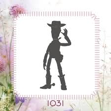 toy story woody stencil or wall decal