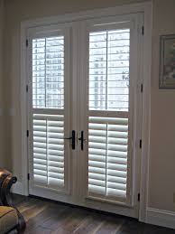 plantation shutters for sliding glass doors jcpenney wood window blinds gl door fully framed arched
