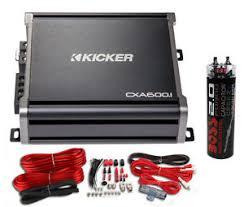 kicker 43cxa6001 600 watt rms monoblock amp mono amplifier image is loading kicker 43cxa6001 600 watt rms monoblock amp mono