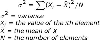 Variance Formula Population Variance Definition Formula Example Study Com