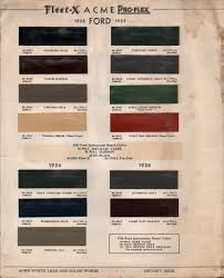 Original 1936 Ford Paint Colors Related Keywords