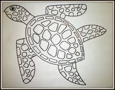 Small Picture How To Draw A Sea Turtle Life drawing Pinteres